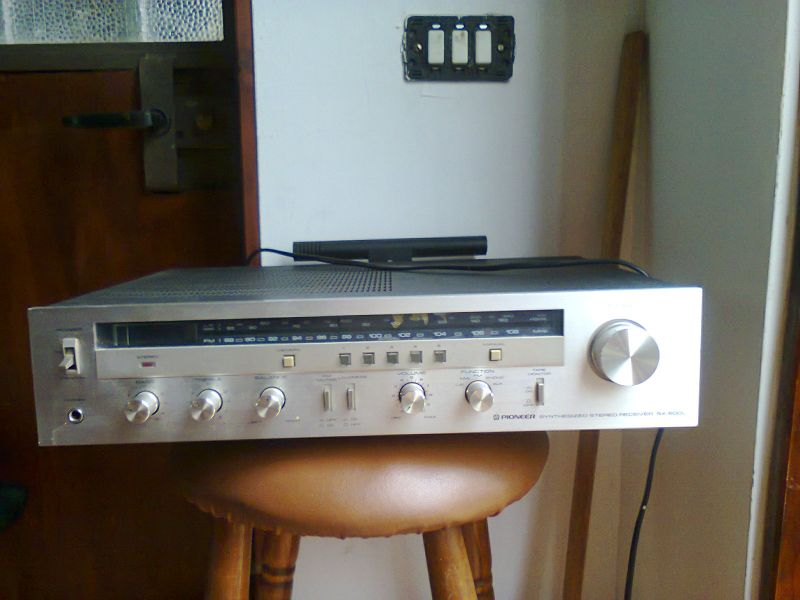Pioneer Synthesized stereo receiver SX 600L W.130