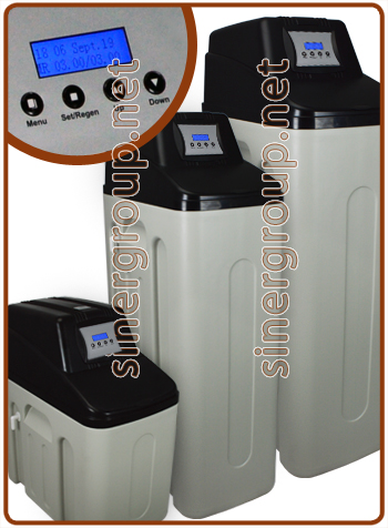 CS3H water softener (Reg. Metered-Time) 12,5 - 25 - 35 lt. resin