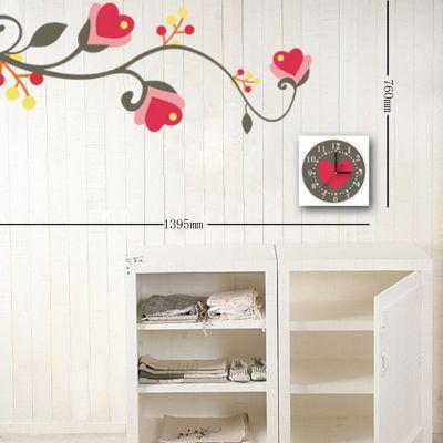 Orologi adesivi wall stickers e decorazioni adesive da for Decorazioni da parete adesive