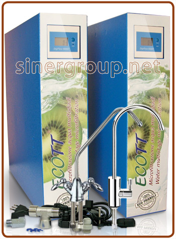 ECOTT microfiltration prepared for Everpure filter choice