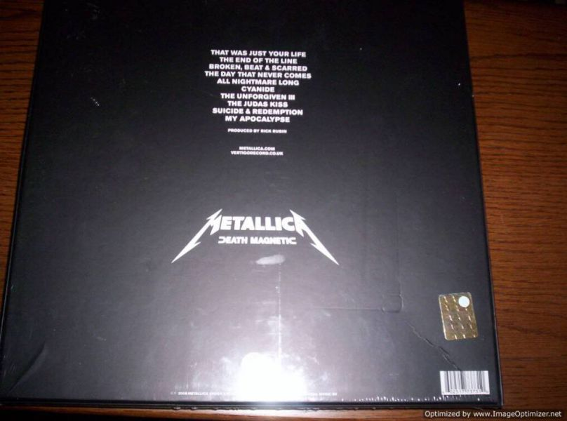 METALLICA - Death Magnetic - LP cofanetto