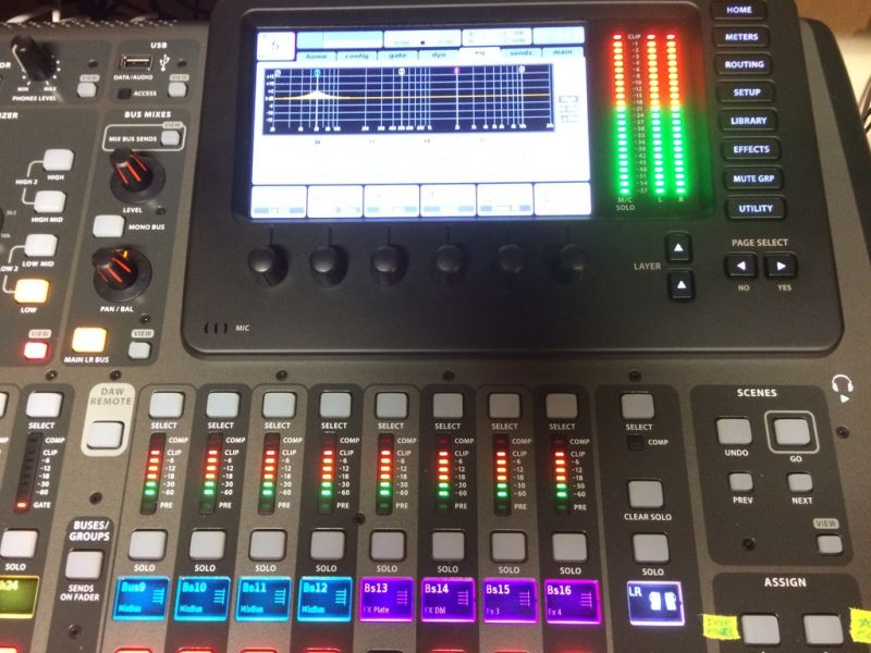Behringer Yamaha Soundcraft PreSonus Midas  e altri Digitali Mixer e Audio attrezzature