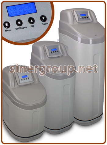 CS6H water softener (Reg. Metered-Time) 12,5 - 18 - 25 lt. resin