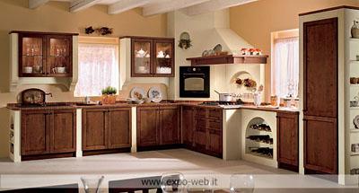 Le cucina in muratura di spagnol cucine a ottimi prezzi da for Cucine bianche classiche prezzi