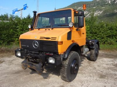 Mercedes  Unimog  U1650  Turbo  4x4 Guida A Dx
