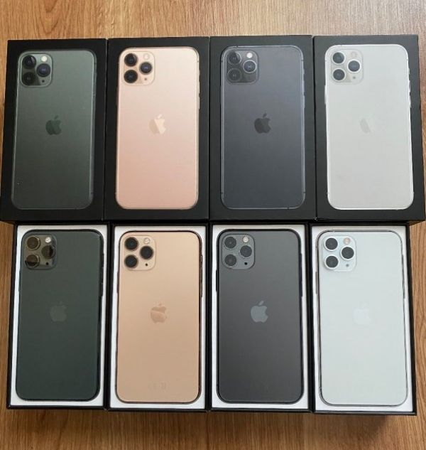 Apple iPhone 11 Pro 64GB prezzo €400 , iPhone 11 Pro Max 64GB prezzo €430 , iPhone 11 64GB per €350