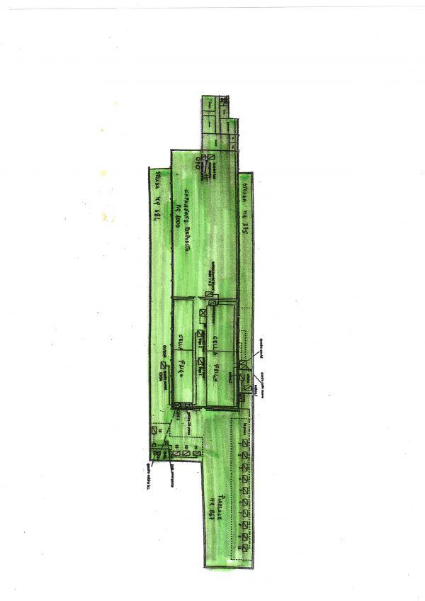 Capannone industriale indipendente di mq a barletta for Capannone di 144 mq