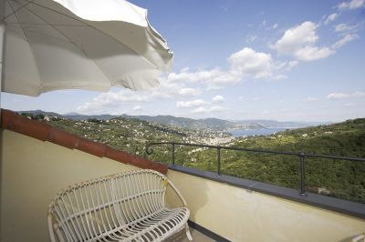 CASA IN COLLINA A SANTA MARGHERITA LIGURE - VISTA MARE