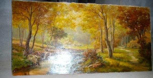 Quadri a olio opera d 39 arte for Quadri dipinti a mano paesaggi
