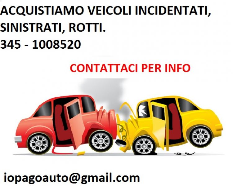 Auto sinistrate acqusito