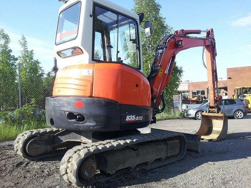 Mini escavatori Kubota U35 2005