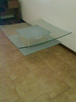 Tavolino da salotto in cristallo - Tavolino salotto cristallo ...