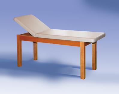 Lettini in legno per massaggi, fisioterapia, cardiologia