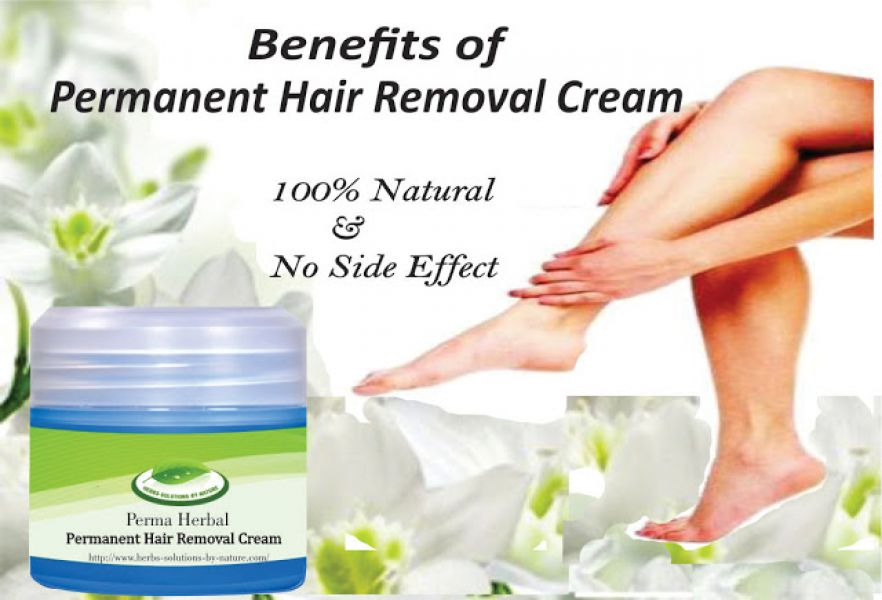 Benefits of Using A Permanent Hair Removal Cream