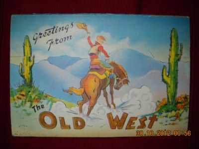 Greetings from the Old West: serie di 16 cartoline