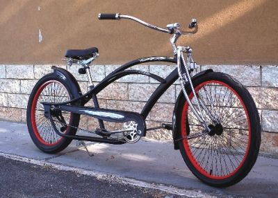 Bici Cruiser Chopper Polo gts