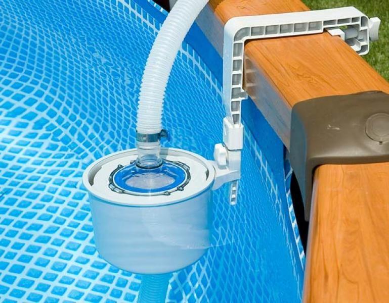 Skimmer per piscina deluxe 58949 for Skimmer per piscine