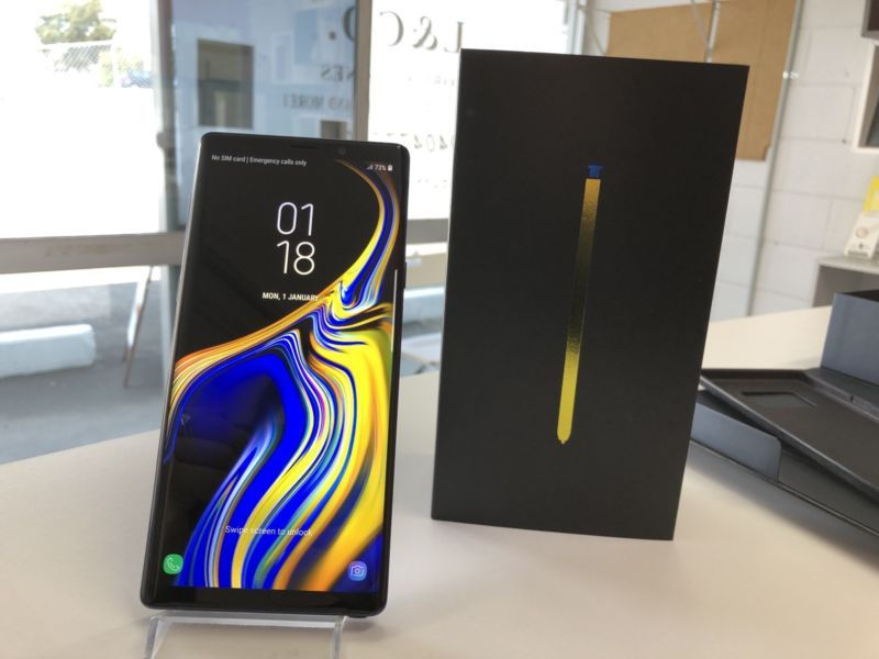 Samsung Galaxy Note 9 S9+ S9 €280 EUR Apple iPhone XS Xs Max