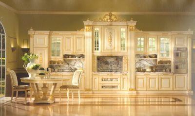 cucina barocco oro e swarosky