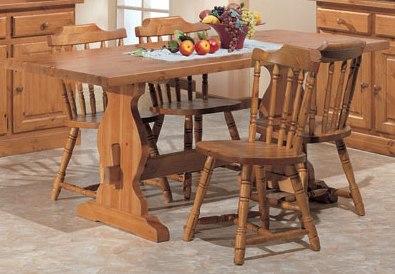 Tavolo in legno per arredo ristoranti e pizzerie for Tavoli e sedie da soggiorno prezzi
