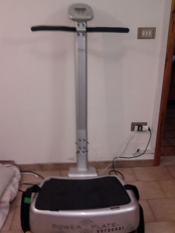 Power Plate My3 nuova con accessori