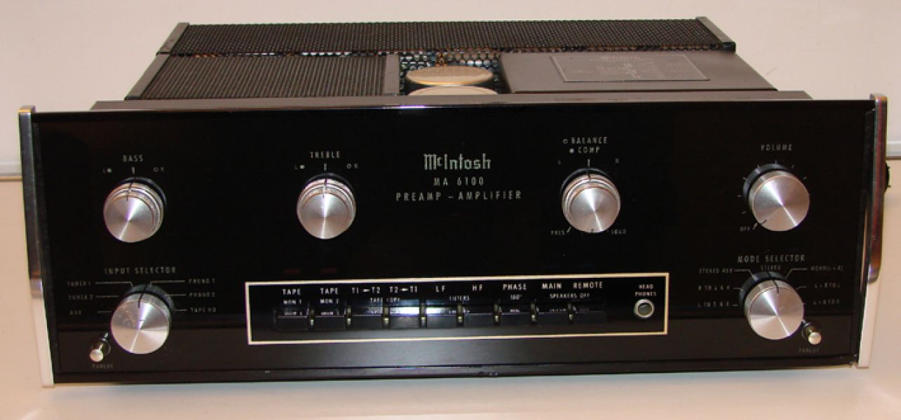 MCINTOSH ma6100 ampli, glass nuovo, revisionato, euro 1200