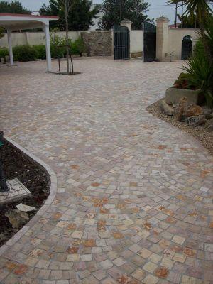 Plm pavimenti in pietra per esterno in sampietrini selciato pave 39 - Pavimenti in pietra per esterno ...