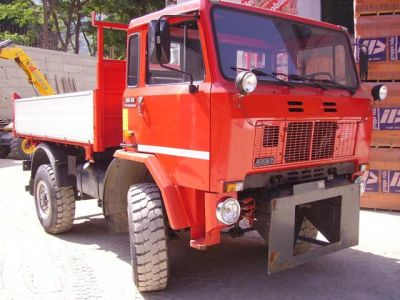 IVECO 80.14 4X4 CANTIERE+NEVE (MACCHINA OPERATRICE = PATENTE B)