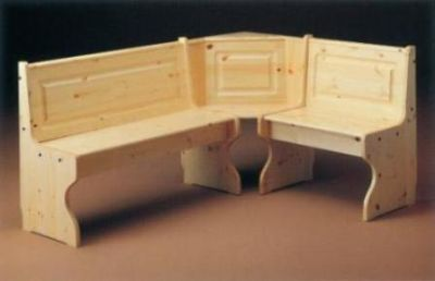 Giropanca tirolese in legno di pino for Arredamento tirolese
