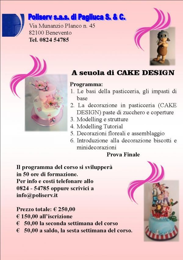 A scuola di Cake Design